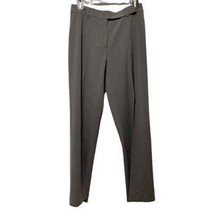 Wolford Gray Wool Straight Leg Trouser Pants 38/8